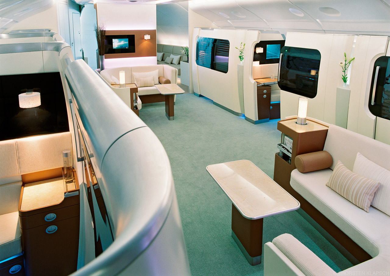 Thorsten Klapsch AIRBUS A 380 Super First Class